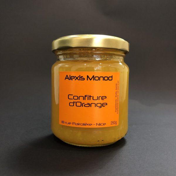 Chocolaterie à Nice Alexis Monod Confiture d'Orange