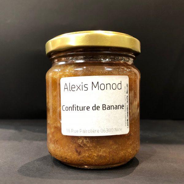 Chocolaterie et Confiserie à Nice Alexis Monod Confiture Banane flambée