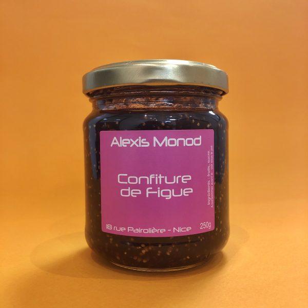 Chocolaterie à Nice Alexis Monod Confiture Figue