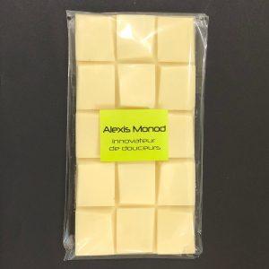 Chocolaterie à Nice Alexis Monod Tablette chocolat blanc