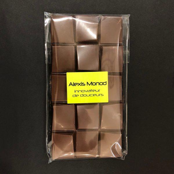 Chocolaterie à Nice Alexis Monod Tablette chocolat au lait
