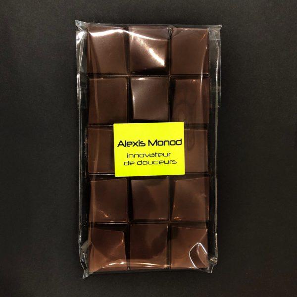 Chocolaterie à Nice Alexis Monod Tablette chocolat noir grand cru Papouasie Nouvelle-Guinée 73%