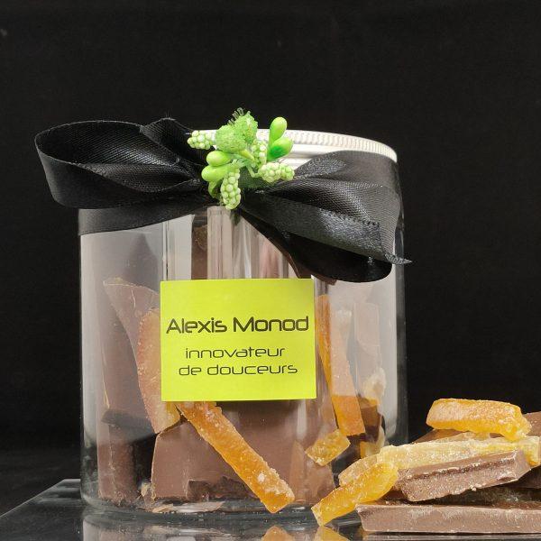Chocolaterie et confiserie à Nice - Boite de chocolat concassé au lait