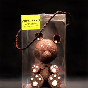 Chocolaterie à Nice Ourson chocolat noir
