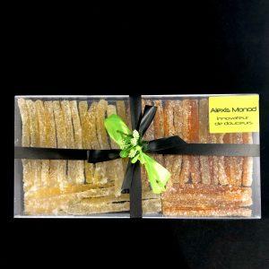Orangettes Citronettes confites mélange 125gr - Chocolaterie et confiserie à Nice