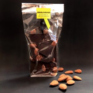 Chocolaterie à Nice Noir amandes torréfiées