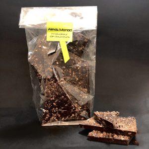Chocolaterie à Nice Noir Gruée
