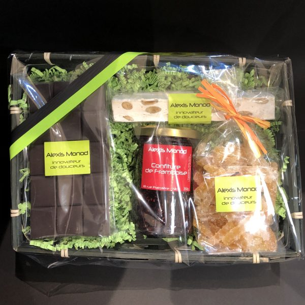 Coffret cadeau Lympia - Confiserie à Nice Panier Lympia