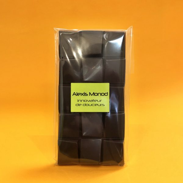 Tablette chocolat noir BIO - Chocolaterie Alexis Monod