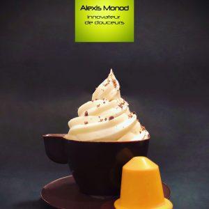 Chocolaterie à Nice Tasse à café capsule Nespresso chocolat noir