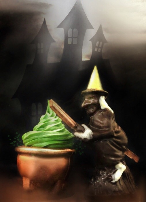 Chocolaterie à Nice La sorcière et son chaudron Chocolat noir