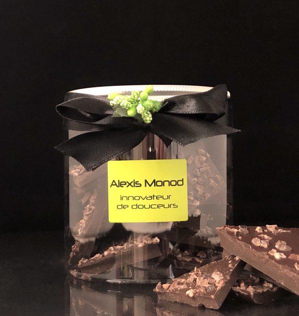 Chocolat Noir aux éclats de grué - Chocolaterie et confiserie à Nice