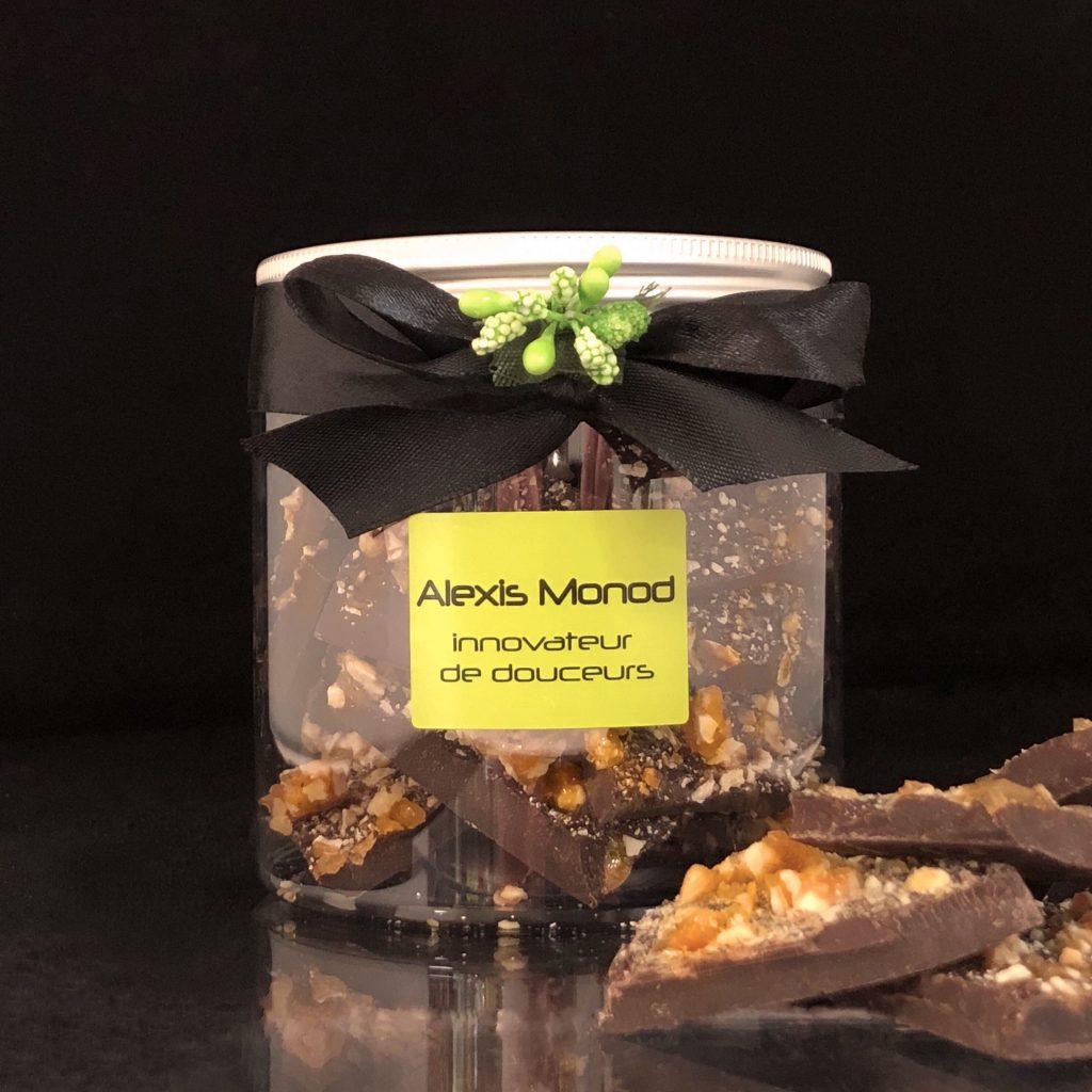 Chocolaterie et confiserie à Nice - Boîte de chocolat concassé nougatine