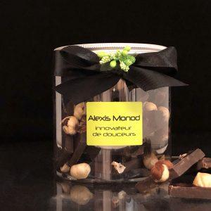Chocolaterie et confiserie à Nice - chocolat concassé noir aux Noisettes