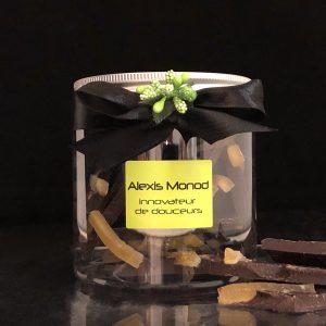 Chocolaterie et confiserie à Nice - Boîte de chocolat concassé noir