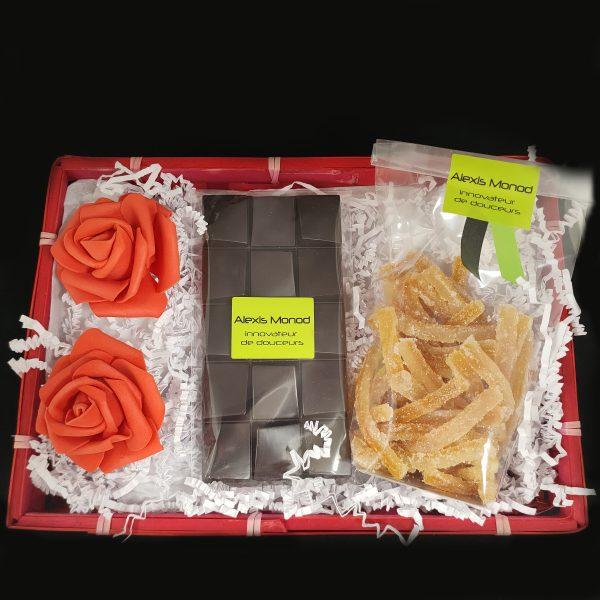 Coffret cadeau Jardin Paradis - Chocolaterie et confiserie à Nice