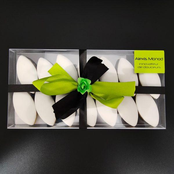 Calissons d'appellation d'Aix en Provence Boite 200gr - Chocolaterie Alexis Monod Nice